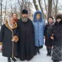 Благочинный Петропавловского округа поздравил военнослужащих госпиталя им.Бурденко