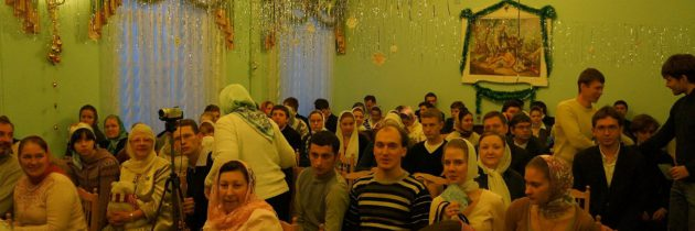 В Перервинской Православной духовной семинарии прошел ежегодный Рождественский фестиваль «Святочный вечер»