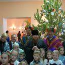 В Доме офицеров прошла 1я Рождественская ёлка благочиния