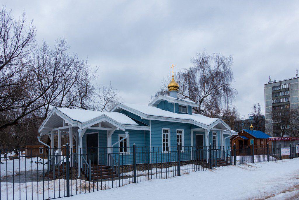 Строящиеся храмы