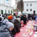 Масленичные гулянья в храме свв.апп. Петра и Павла в Лефортово