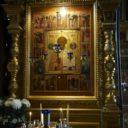Архиерейское богослужение в храме Свт. Николая Мирликийского на Рогожском кладбище