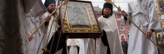 Образ Толгской иконы Божией Матери в Новоспасском монастыре