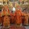 Епископ Савва совершил литургию в Петропавловском храме