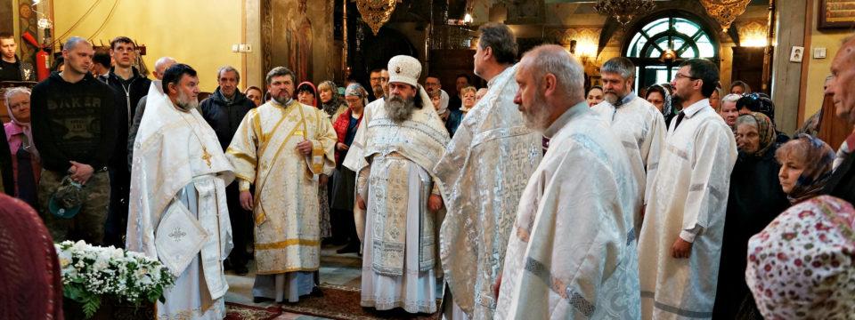 В праздник Вознесения Господня благочинный возглавил богослужения