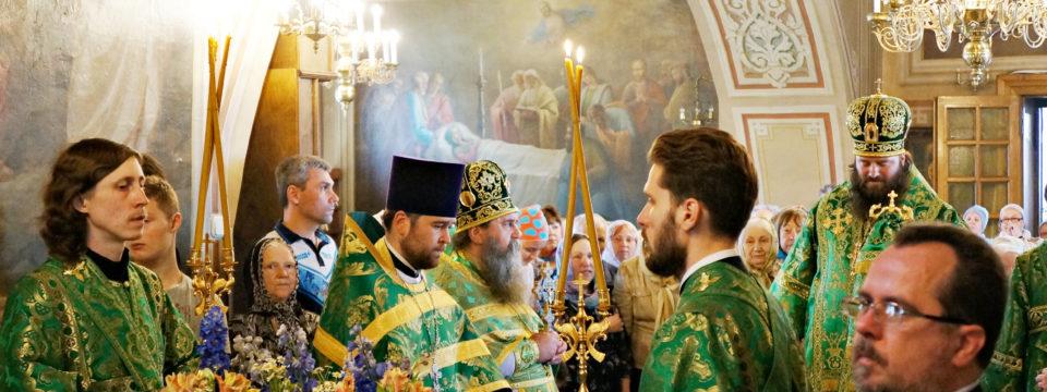 День Святой Троицы — престольный праздник в Карачарове