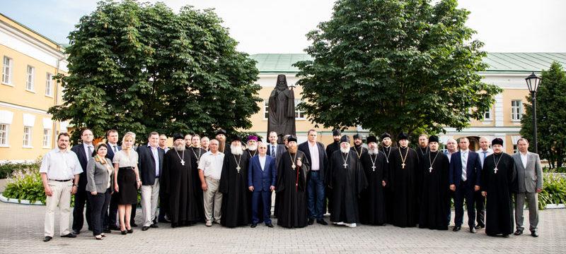 Встреча викария с префектом ЮВАО в Перерве