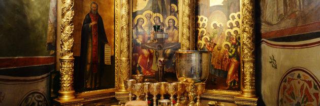 Престольный праздник храма Прп. Сергия на Рязанке