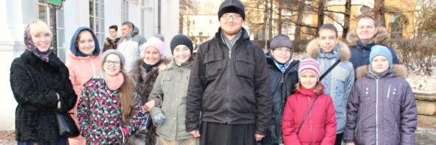 Паломничество воскресной школы храма на Волжском