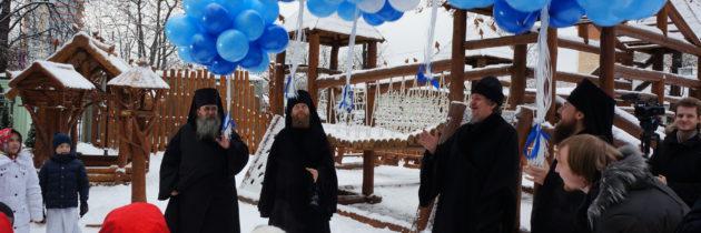 Престольный праздник в храмовом комплексе на Рязанке