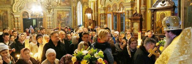 Благочинный возглавил престольный праздник на Рогожке