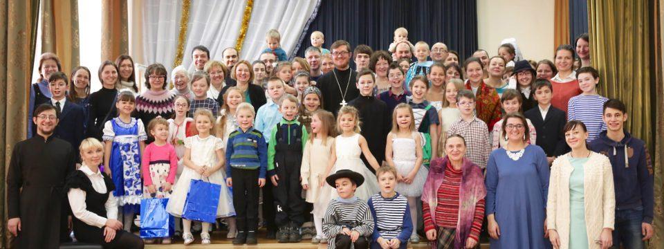 Рождественский концерт Воскресной школы на Волжском