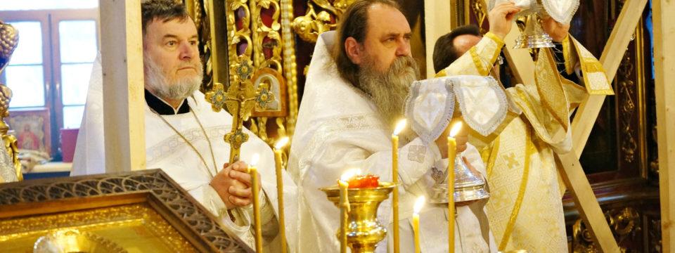 Святое Богоявление в ПетроПавловском храме благочиния
