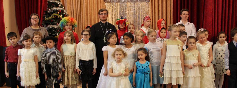 Концерт воспитанников Воскресной школы храма на Волжском