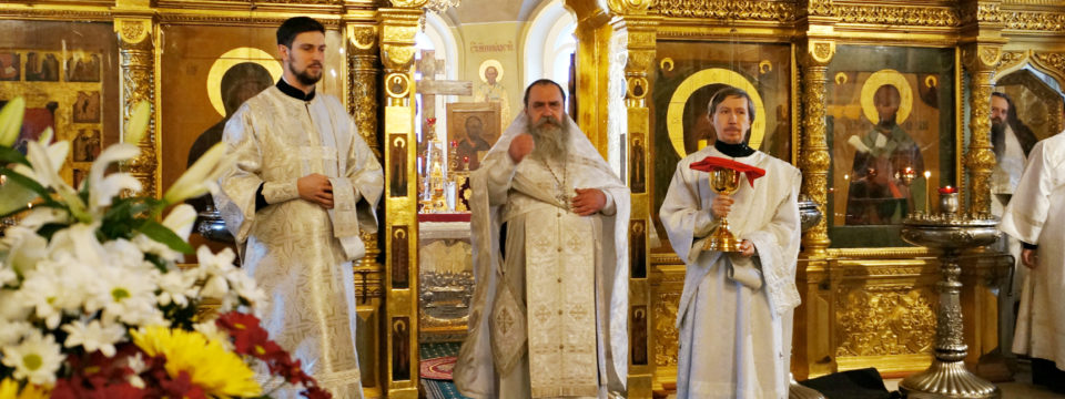 Управляющий викариатством возглавил богослужение на Рогожке