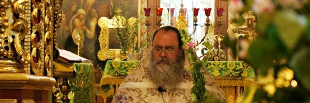 Праздник Пятидесятницы в ПетроПавловском храме благочиния