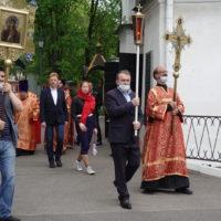 В Петропавловском храме отметили малый престольный праздник