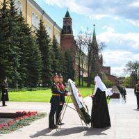Патриарх Кирилл возложил венок