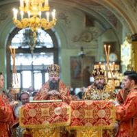 День обретения мощей святителя Алексия в Богоявленском соборе