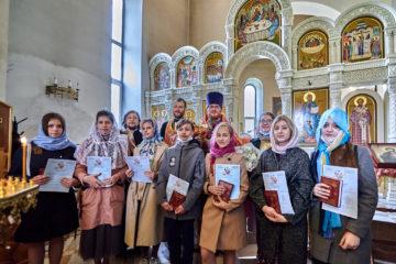 В Воскресной школе при храме на Волжском состоялся выпуск