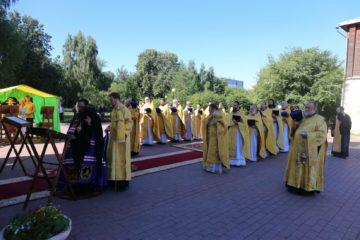 В день своего рождения викарий совершил литургию в Свиблове