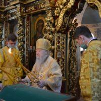 Торжества в день престольного праздника в Петропавловском храме