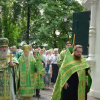 Малый престольный праздник Петропавловского храма в Лефортове