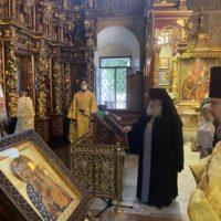 Богослужение в день Крещения Руси в Петропавловском храме