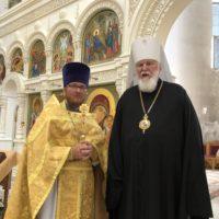 Юбилейная дата архиерейской хиротонии митрополита Валентина