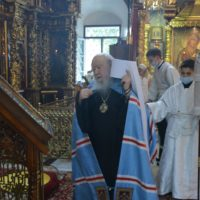 Митрополит Ювеналий возглавил богослужения в Преображение Господне