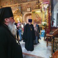 В Петропавловском храме почтили память митрополита Никодим (Ротова)