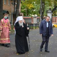 Праздник Воздвижения Креста Господня в Петропавловском храме